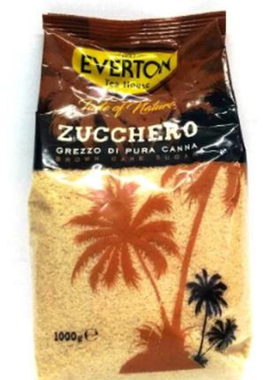 Сахар Тростниковый Everton Zucchero 1 Кг Сахар тростниковый 1 kg