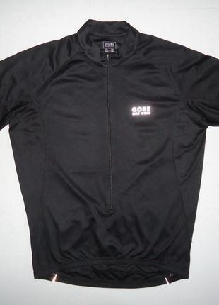Велофутболка велоформа gore bike wear черная (xxl)