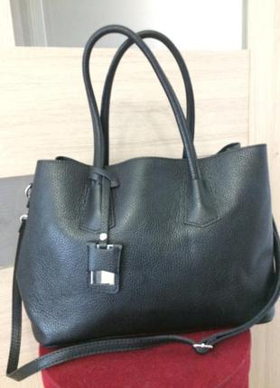 Элегантная стильная сумка 100% кожа