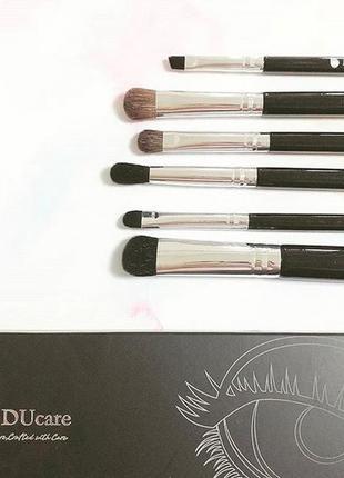 Набор кистей для макияжа ducare 6 pieces eye makeup brush set