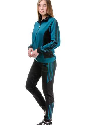 Спортивный костюм женский трикотажный
