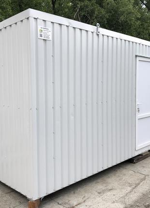 Общественный санитарный модуль 6*2,4м