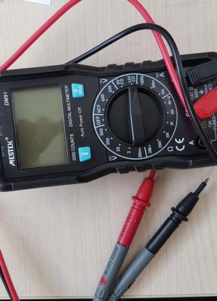 Мультиметр mestek dm91