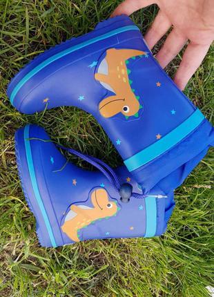 Резиновые сапоги biki для мальчика