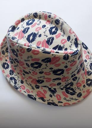 Шляпа детская для девочки. Кепка. Размер 52см