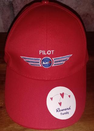 Детская бейсболка pilot