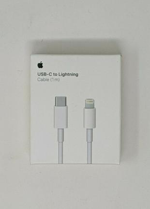 Кабель Apple 1m USB-C to Lightning