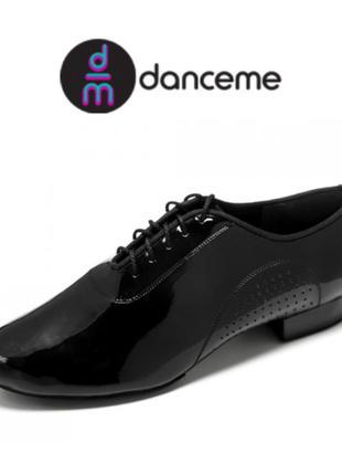 Туфли для бальных танцев dance me стандарт, лак