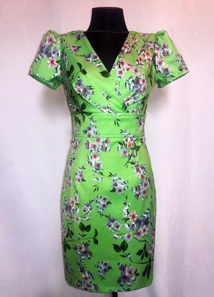 Дешево. красивое платье, модный принт. турция. новое, р. 42