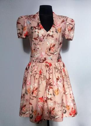 Дешево. красивое платье, модный принт. турция. новое, р. 42, 44