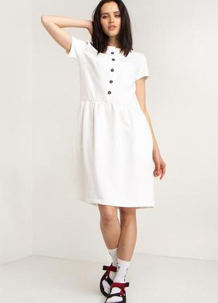 Короткое платье в винтажном стиле разные  цвета