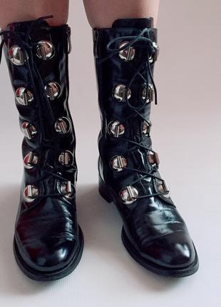 Сапоги, ботинки Женские р . 39 Кожа