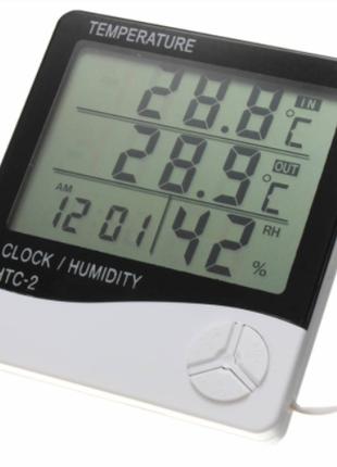 Цифровой термогигрометр с датчиком HTC-2