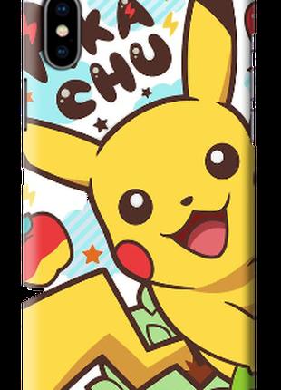 """Чехол """"Пикачу"""" на всі моделі смартфонов"""
