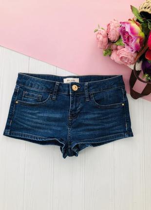 Короткие джинсовые мини шорты