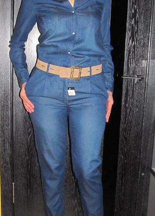Джинсовый комбинезон с брюками тсм р. 46