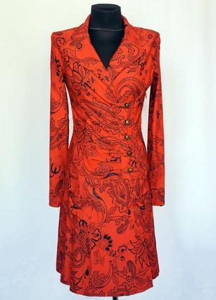 Суперцена. стильное платье, фасон плаща. орнамент. турция. нов...