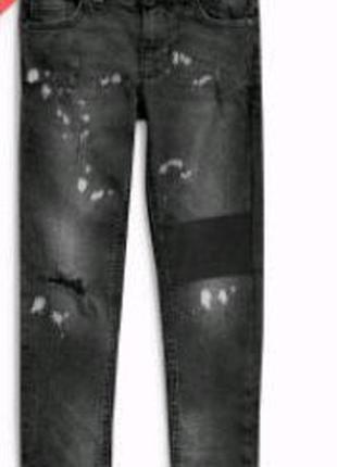 Рваные джинсы скинни Next skinny