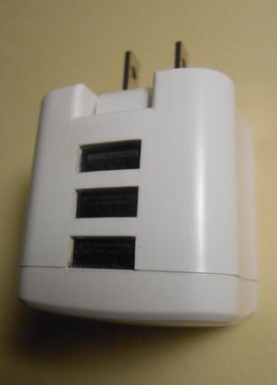 3.4А Быстрая зарядка на 3 порта Staples (США) зарядное устройство