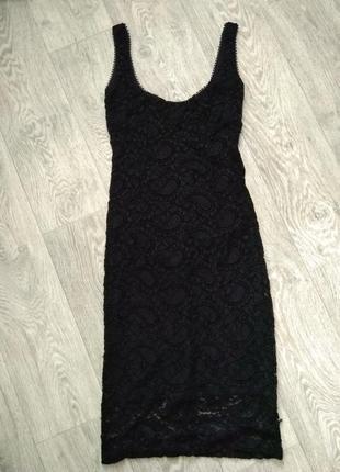 Ажурное платье резинка  kikiriki