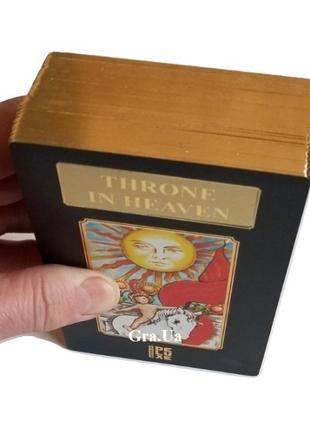 Таро Уэйта Большого Формата с золотым обрезом в мешочке