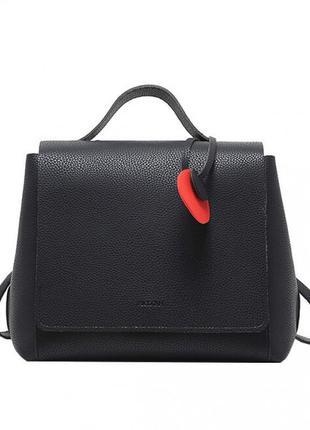 Черный женский рюкзак micocah