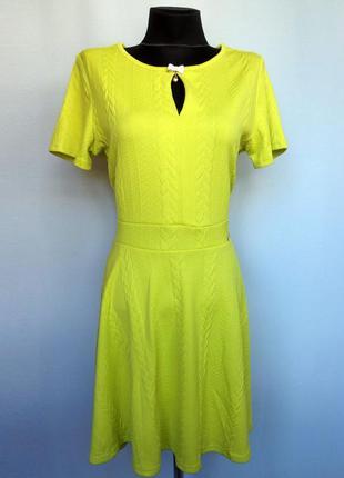 Italy fashion. яркое платье , стрейчевый жаккард. новое, р. xl