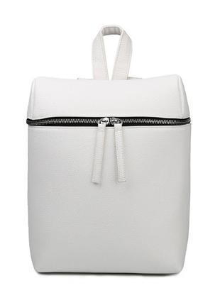 Белый женский рюкзак suivea