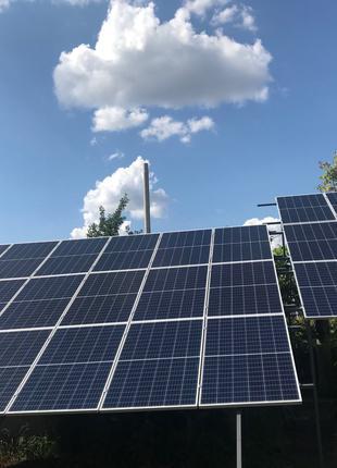 Солнечная электростанция 15 кВт под зеленый тариф
