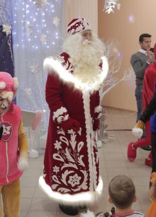 Костюм Деда Мороза светящийся