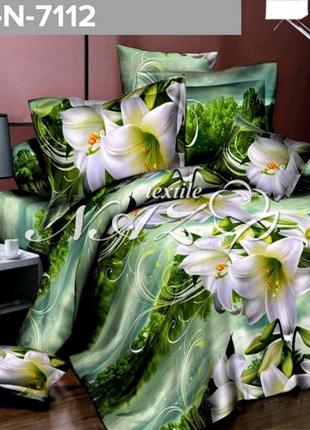 Красивые цветы на вашем постельном белье