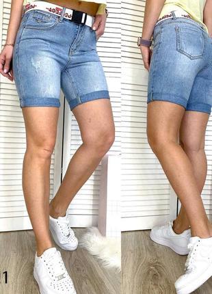 Шорты джинсовые женские 25-30