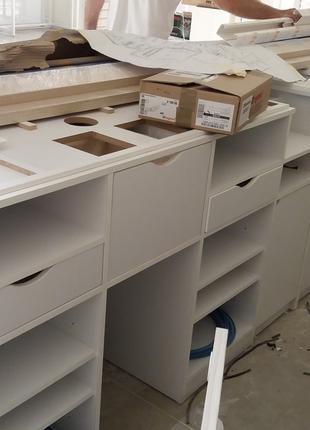 Монтаж-демонтаж тогового и складского оборудования.