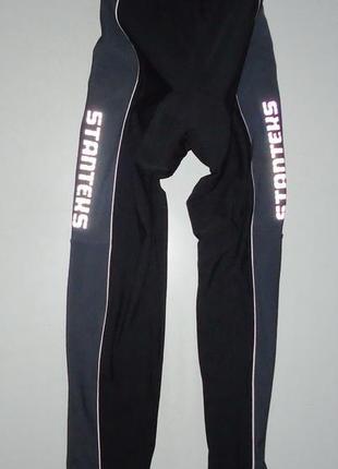 Велоштаны stanteks с памперсом теплые велоформа (l)