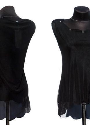 Суперцена. эффектная блуза футболка. удлиненная спинка. новая,...