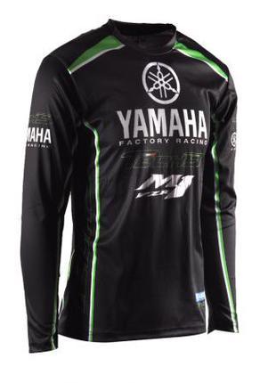 Джерси Yamaha черная