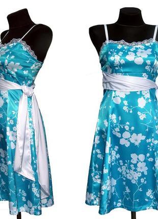 Суперцена. красивое платье, выразительный принт. турция. новое...