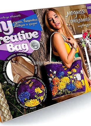 Набор для вышивки лентами My Creative Bag