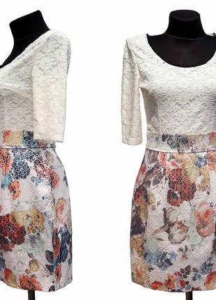 Суперцена. стильное платье, жаккардовая ткань. турция. новое, ...