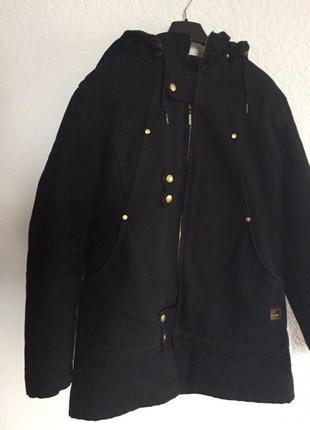 Зимняя куртка richlu, зимова куртка, тепла куртка, парка чорная.