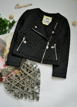 Классная куртка косуха стеганая плащевка julien macdonald