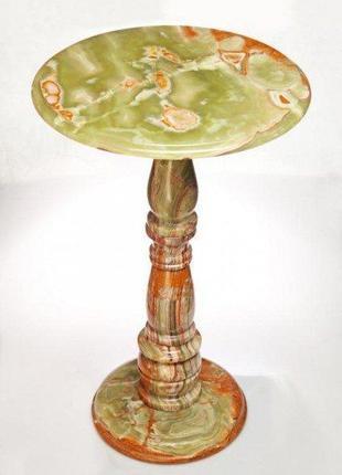 Стол из натурального камня Оникс