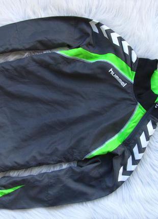 Стильная спортивная кофта куртка реглан  свитшот hummel