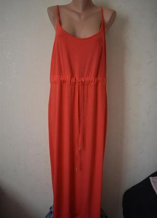 Новое длинное трикотажное платье большого размера dorothy perkins