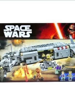 Конструктор Space wars 10577 Военный транспорт сопротивления, 670