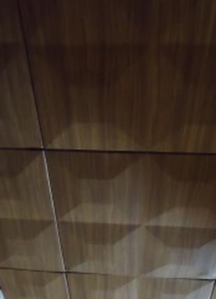 Облицовочные  декоративные плиты для обшивки потолков. Новые.