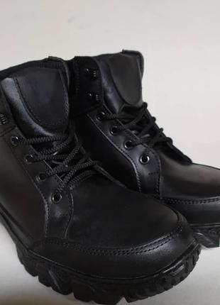 Мужские тактические демисезонные ботинки черные