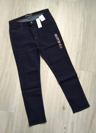 Джинсы женские темно-синие marks & spencer размер 18/46