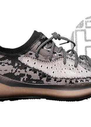 Мужские кроссовки adidas yeezy boost 380 black white fb7876