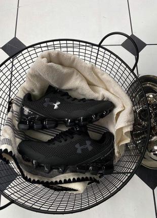 Мужские кроссовки under armour scorpio 3 full black